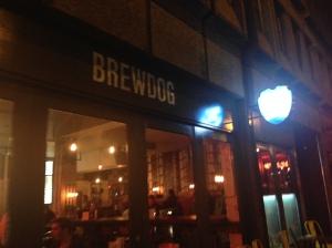 Brewdog on Westgate Street