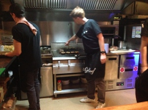 The Chefs At Work