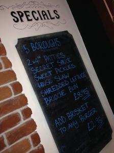 5 Boroughs Burger - Specials