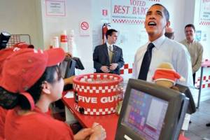 Obama 5 Guys